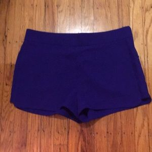 NWT J. Crew Purple Shorts.